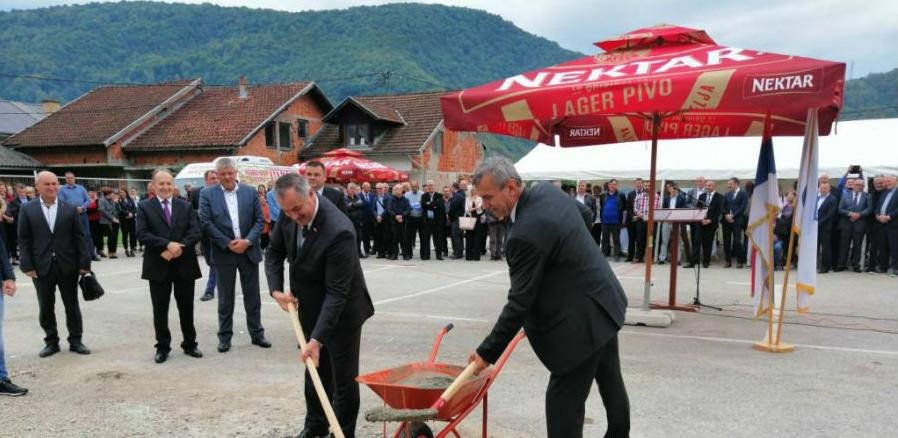 Kotor Varoš: Položen kamen temeljac za novu zgradu lokalne uprave