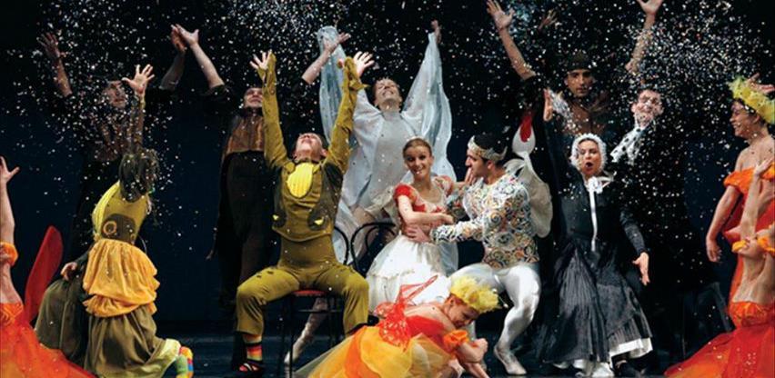 """Baletna bajka """"Palčica"""" na sceni Narodnog pozorišta Sarajevo"""