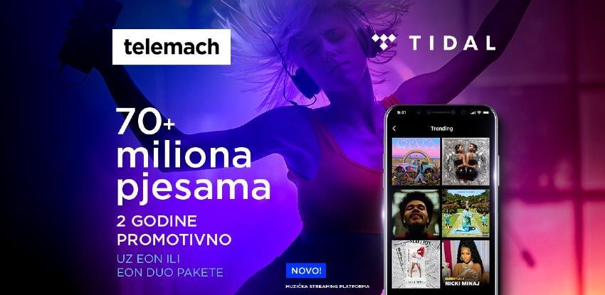 Stigao je TIDAL: Vodeća muzička platforma dostupna za korisnike Telemacha BH