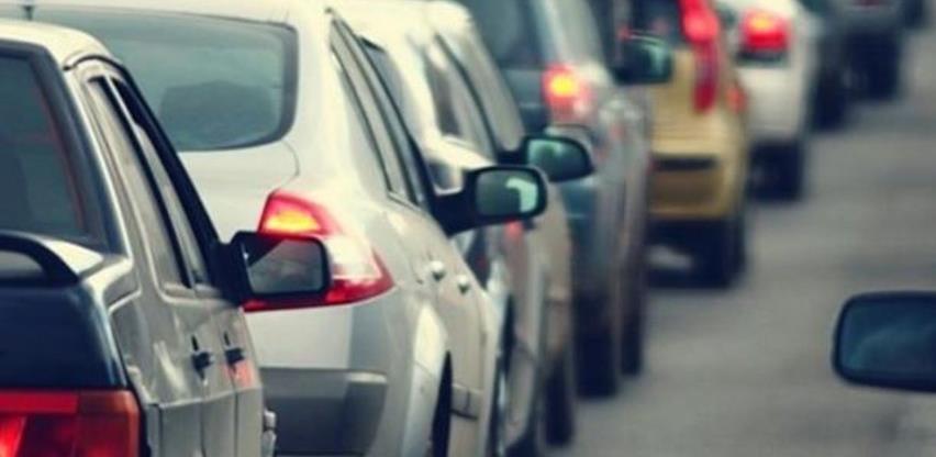 U BiH prošle godine registrovano više od milion vozila, 85 posto starije od 10 godina