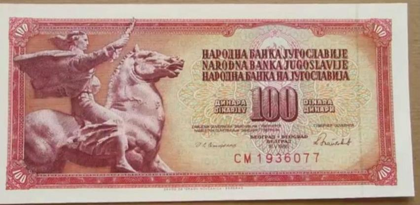 Sjećate li se ove novčanice? Zvali su je 'crvena'