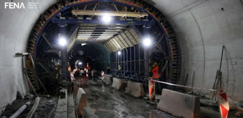 Do kraja oktobra dvosmjerni promet kroz tunele Vranduk