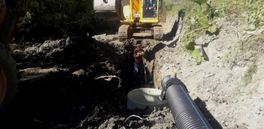 Završena izgradnja fekalnog kolektora Šabići – most na rijeci Rakitnici