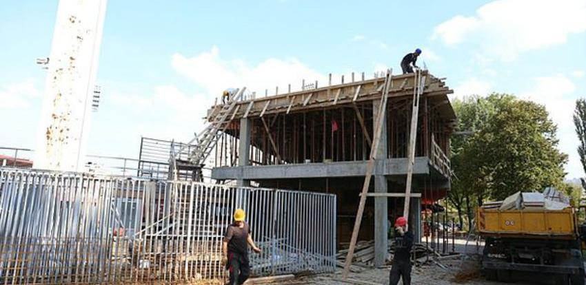 Grad Zenica sufinansira rekonstrukciju press sale na stadionu Bilino polje