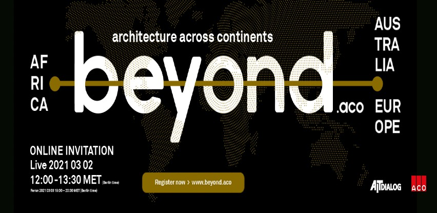 "Postanite dio ""beyond.aco - arhitekture na svim kontinentima"""