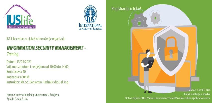IUS trening: Information security management