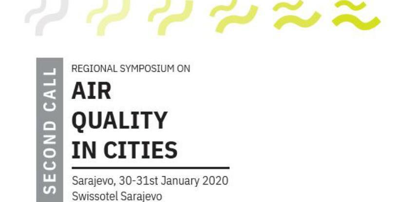Simpozij o planiranju kvaliteta zraka u gradovima, 30. i 31. januar 2020.