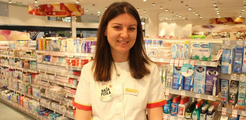 Lejla Sendo zaposlenica dm-a: Prihvatanjem promjena otvorile su se nove prilike