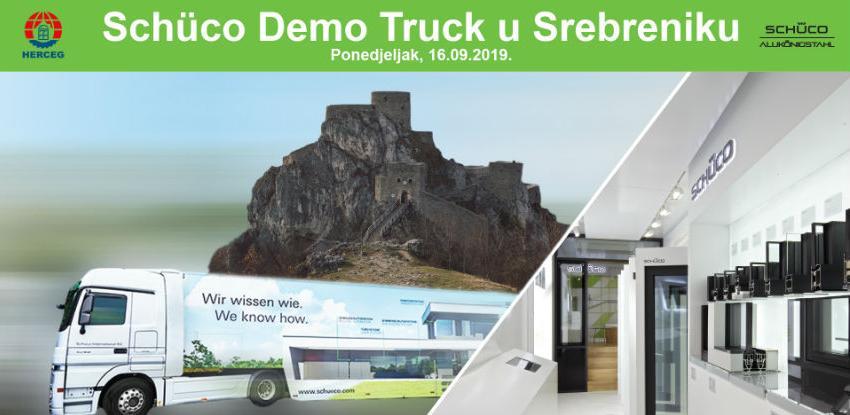 Schüco Demo Truck Tour 16. septembra u Srebreniku