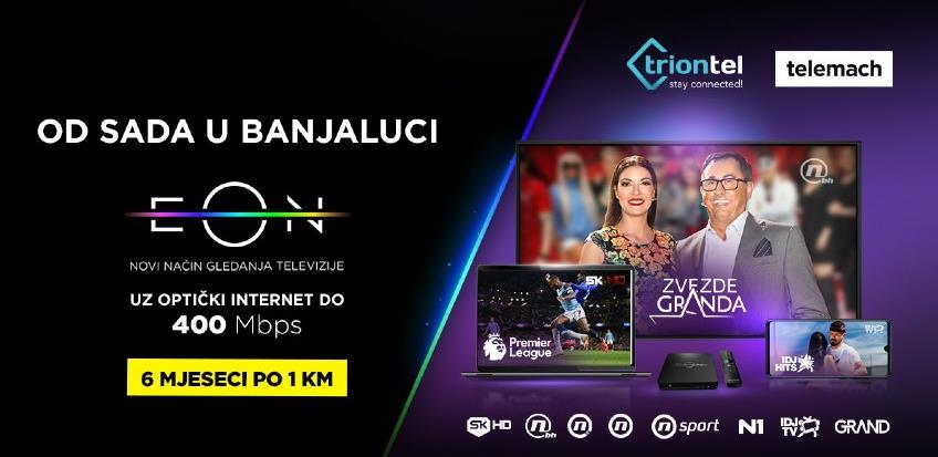 Zajednički paketi TRION TEL-a i Telemach-a od sada na području Banjaluke
