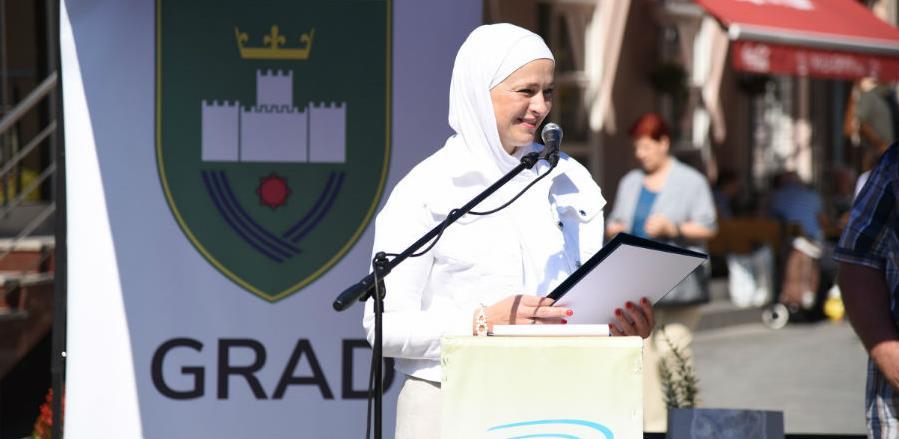 Gradonačelnica Amra Babić svečano otvorila sajam Dani organske proizvodnje