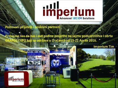 Imperium d.o.o. Tuzla i ove godine na sajmu Grapos Expo