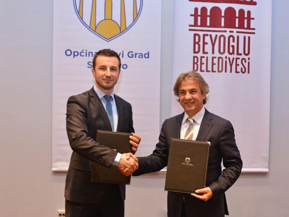 Dogovorena saradnja općina Novi Grad iz Sarajeva i Beyoglu iz Istanbula