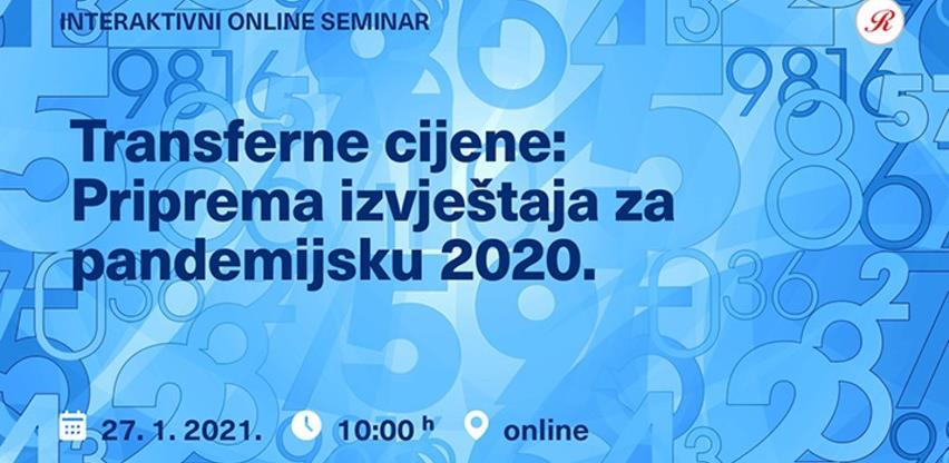 Revicon seminar: Transferne cijene - Priprema izvještaja za pandemijsku 2020. godinu