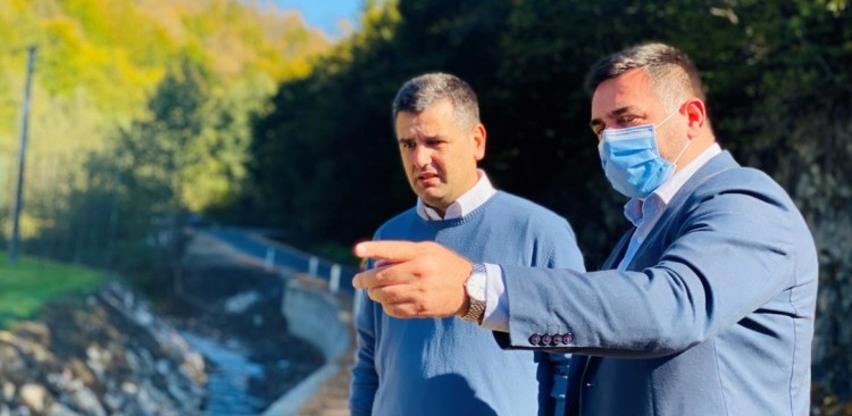Završeno asfaltiranje puta Žutica - Sućeska - Srebrenica