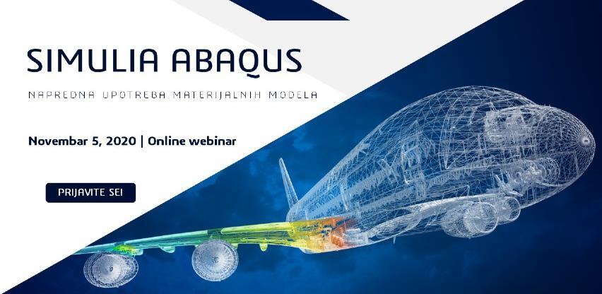 Webinar SIMULIA Abaqus: Napredna upotreba materijalnih modela