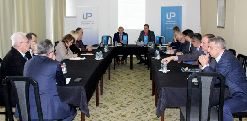 Poslodavci će Vladi i Parlamentu FBiH dostaviti 24 teksta zakona