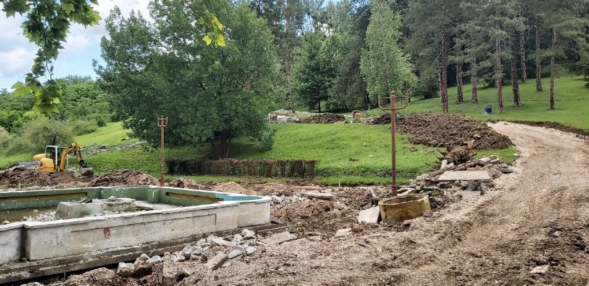 Nastavljaju se radovi na obnovi kompleksa Slana banja (Video)