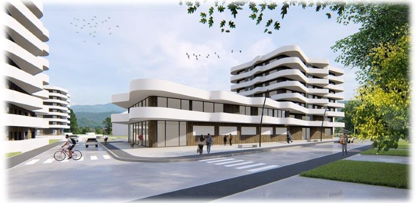 Compact Invest počinje gradnju novog stambeno-poslovnog objekta Sarajevo Waves 5