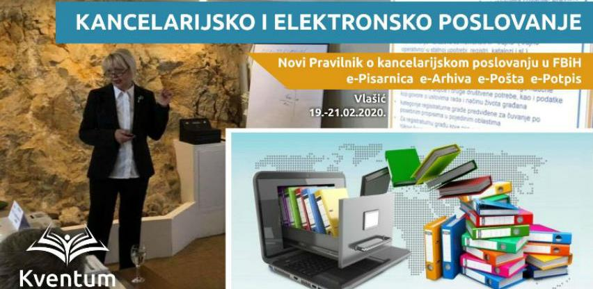 Seminar: Upoznajte se sa novim Pravilnikom o kancelarijskom poslovanju