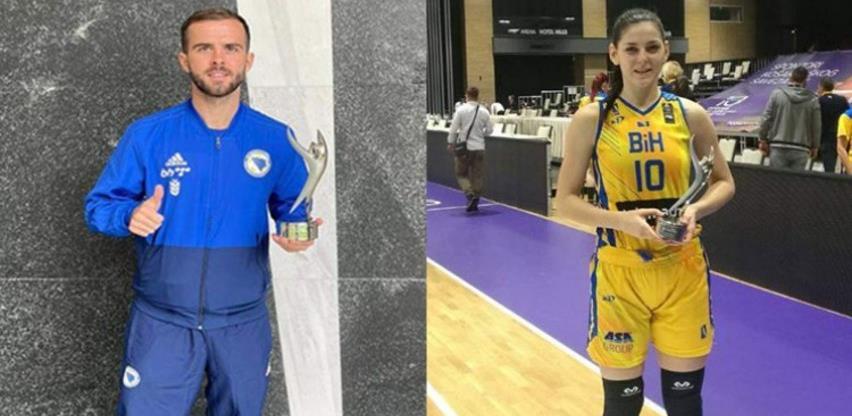 Miralem Pjanić i Marica Gajić najbolji sportisti BiH