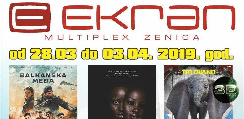 Balkanska međa i Dumbo novi filmovi na programu Multiplexa Ekran Zenica