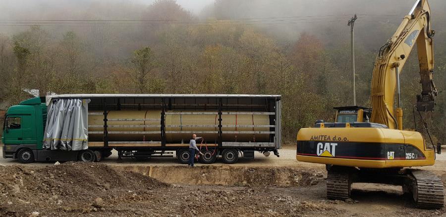 Interlogistic uspješno transportovao cijevi iz Turske