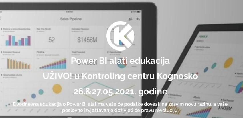 Power BI alati - dvodnevna edukacija 29. grupe polaznika u Kontroling centru Kognosko