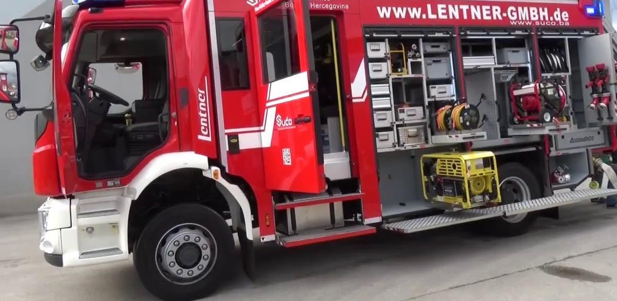 Firma Su-Ad iz Živinica pravi prvo domaće vatrogasno vozilo od 18 tona (VIDEO)