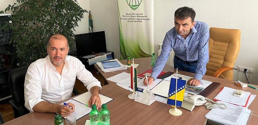 Pomoć Štaba Civilne zaštite Novo Sarajevo za sanaciju šteta od poplava u Općini Foča-Ustikolina