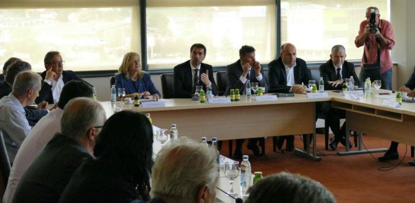 U Vitezu održan sastanak na temu izgradnje dionice Vitez – Nević polje
