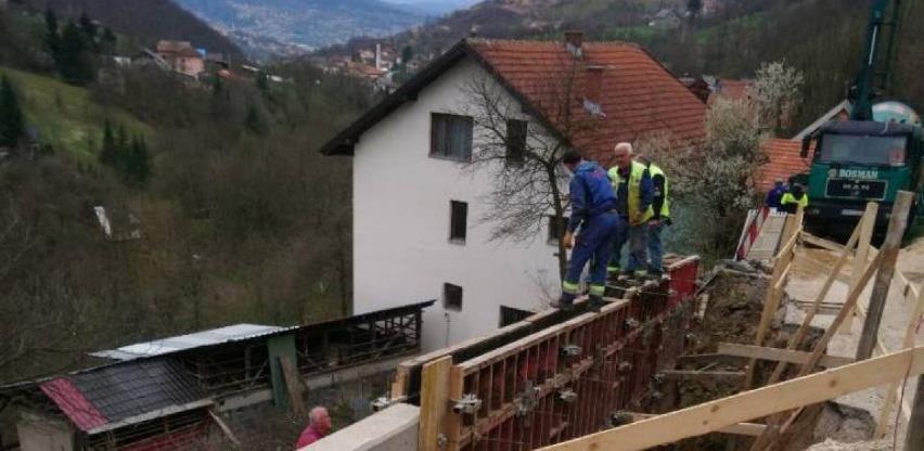 Započela rekonstrukcija i proširenje puta kroz naselje Muharemovići