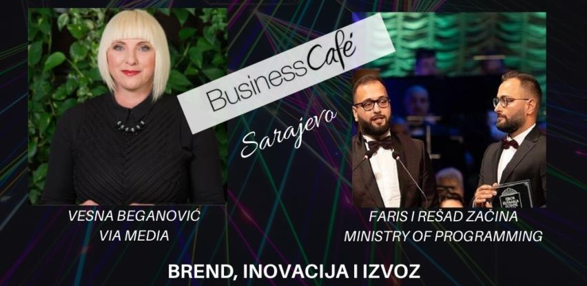 27.Business cafe: Brend, inovacija i izvoz