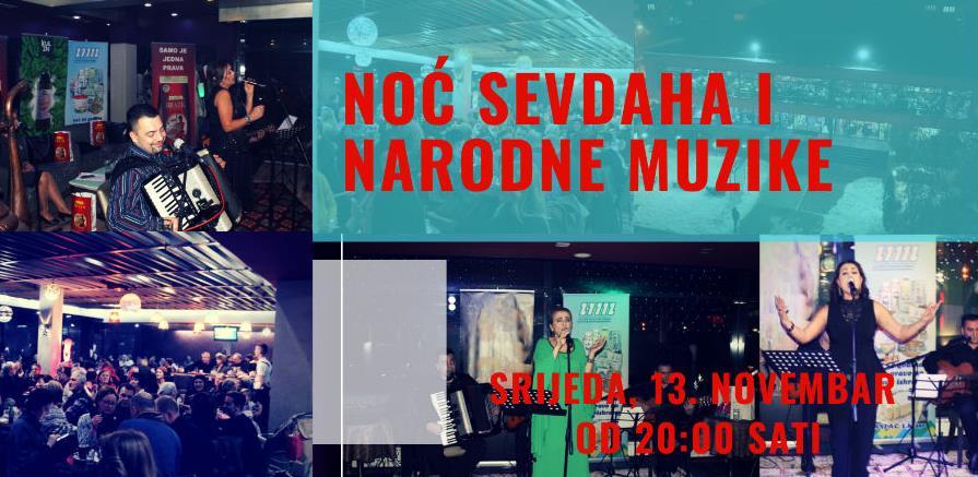 U Multiplexu Ekranu Zenica: Prva ovosezonska noć sevdaha i narodne muzike