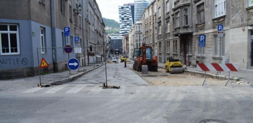 Započeli radovi na rekonstrukciji Ulice kralja Tvrtka na Marijin dvoru