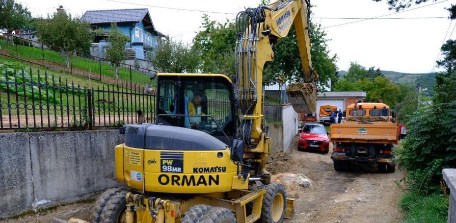 Nakon izgradnje nove vodovodne mreže u ulicu Porodice Bećirbašić stiže i asfalt