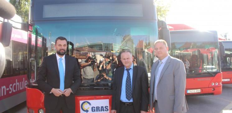 GRAS - Od naredne sedmice 26 autobusa javnog gradskog prijevoza