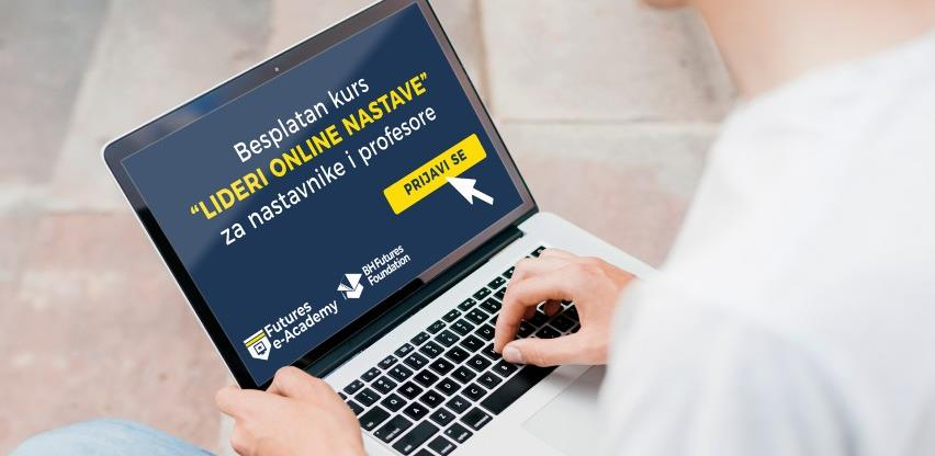 Besplatan kurs za nastavnike i profesore: Online nastava po svjetskom standardu