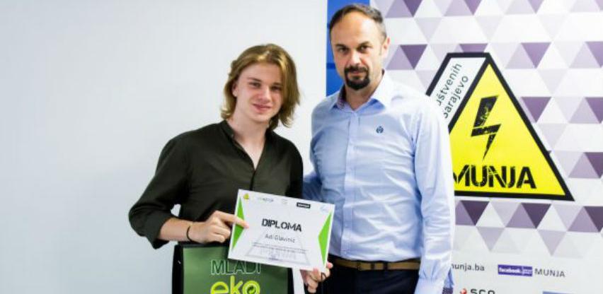 Mladim Eko Reporterima na svečanoj ceremoniji uručene nagrade
