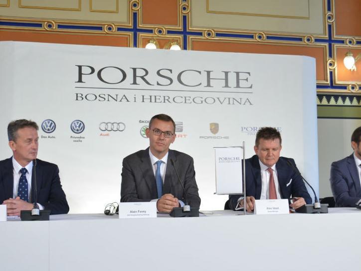 Porsche Holding Salzburg u BiH preuzeo posao uvoznika za vozila Volkswagen