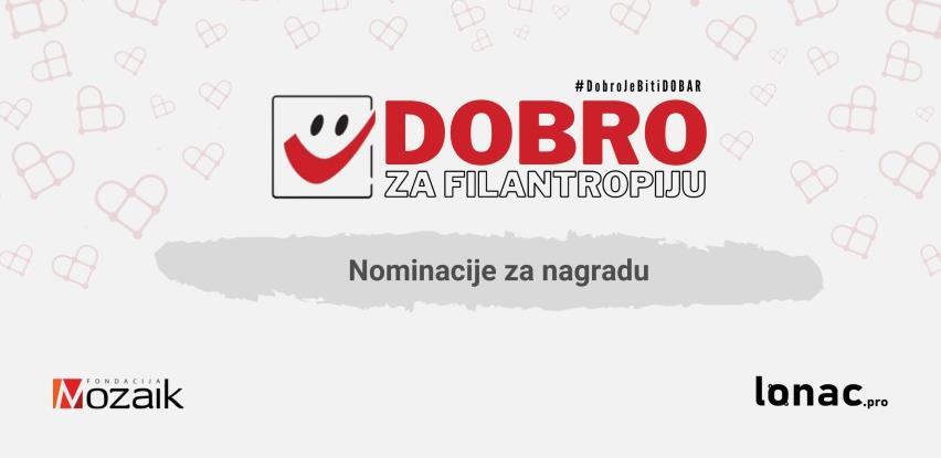 DOBRO za filantropiju: Objavljena imena kompanija i osoba za ovogodišnju nagradu