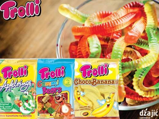 Trolli Gumeni bomboni: Omiljen su slatkiš svakog mališana