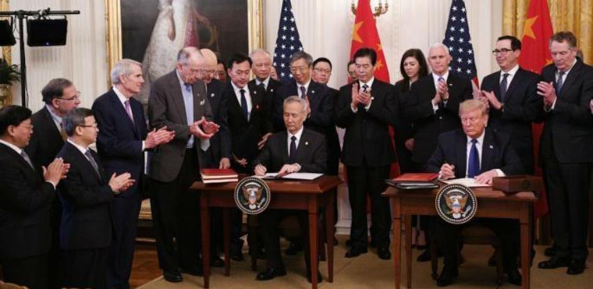 SAD i Kina potpisali prvu fazu trgovinskog sporazuma