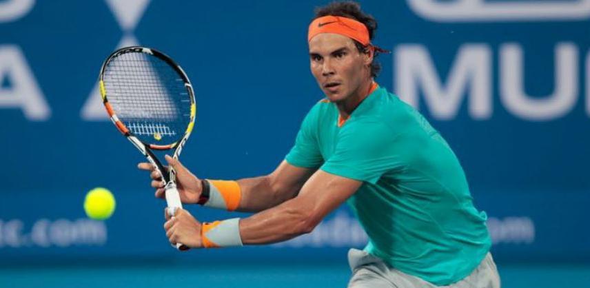 Prvi reket svijeta, Rafael Nadal naredni Džumhurov protivnik