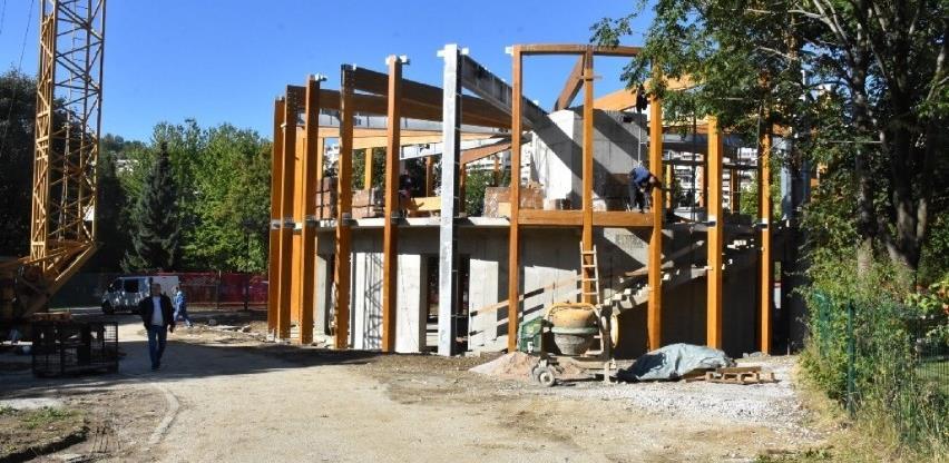 Radovi na izgradnji Evropske kuće kulture odvijaju se planiranom dinamikom
