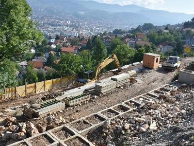 Do sredine septembra planiran završetak sanacije klizišta na Soukbunaru