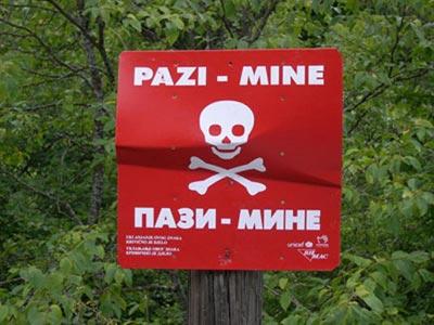 Upute građanima kako se ponašati u slučaju pronalaska mina