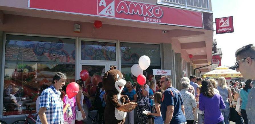 Amko komerc otvorio novi market u Sokolović Koloniji