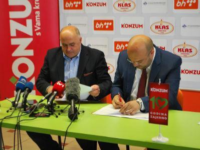 Konzum će sponzorirati bh. rukometaše