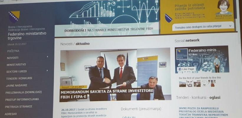 """Federalno ministarstvo trgovine pokrenulo aplikaciju """"on-line komunikator"""""""